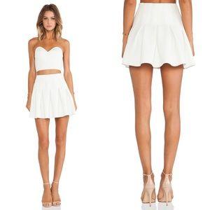 Lovers + Friends High Tide Skirt in Ivory